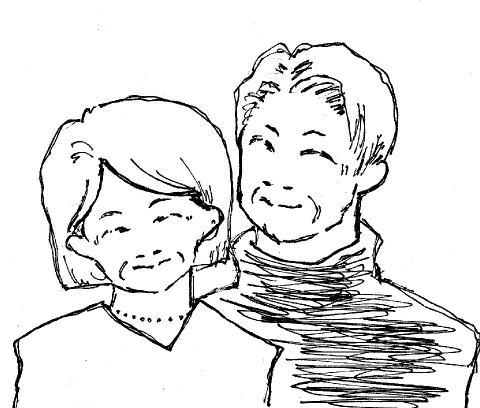 50代後半夫婦(前立腺がん、暴言)